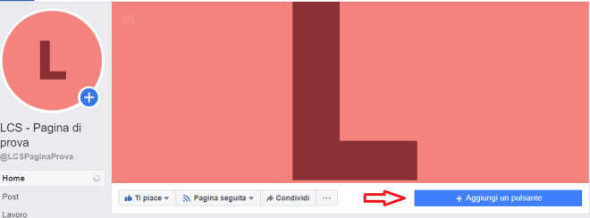 Come gestire una pagina Facebook - il pulsante call to action