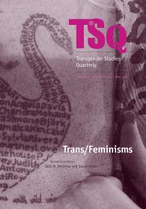 Hacking the Body: A Transfeminist War Machine [EN]