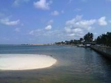 Vue du Port Gentil
