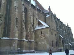 Church Dark - Basilique gothique reconstruite après un incendie en style baroque