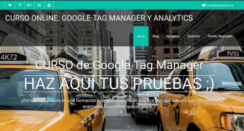 Sitio de pruebas para curso de Tag Manager (Lucia Marin)