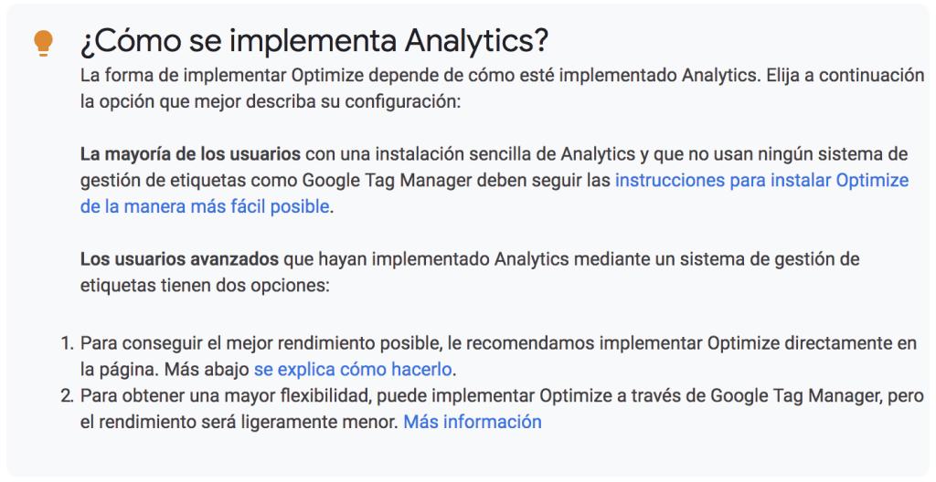 Google Optimize y Tag Manager - Lucía Marín