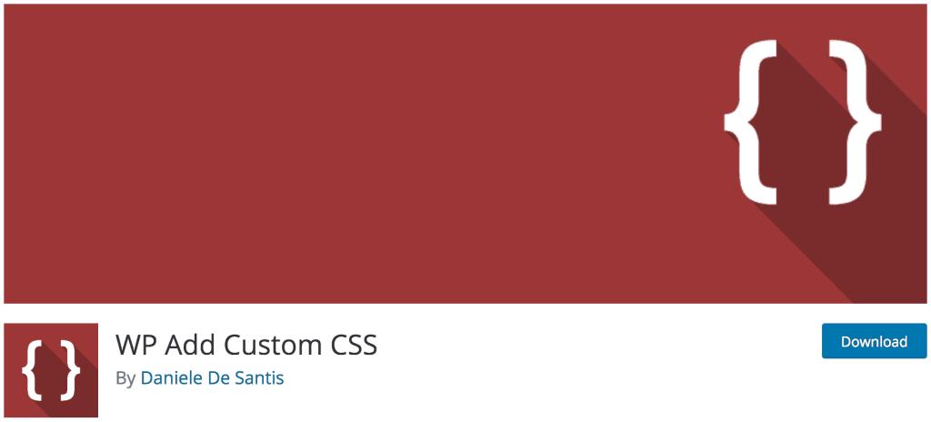 Plugin WP Add Custom CSS. Añadir CSS Personalizado a la Web