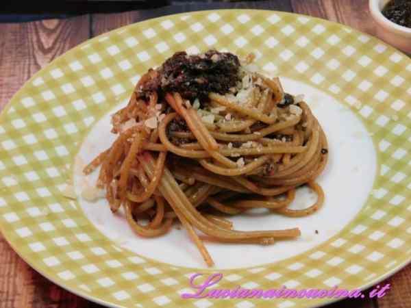 Spaghetti alla Pompilio
