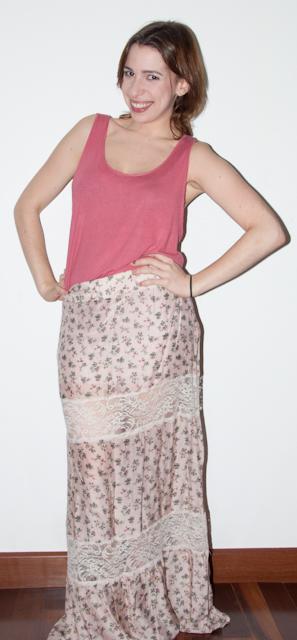 look do dia no blog de moda: como misturar estampas - Saia longa PopUp Store, blusa popUp Store