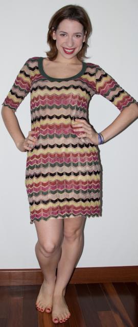Blog de moda: como usar vestido estampado Missoni
