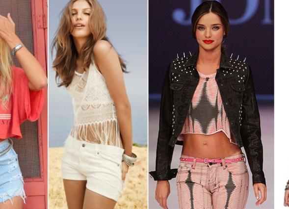 Blog de moda: como usar crop top com cintura baixa