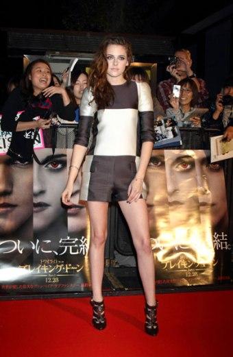 Kristen Stewart - Louis Vuitton coleção primavera 2013 - Damier - blog de moda