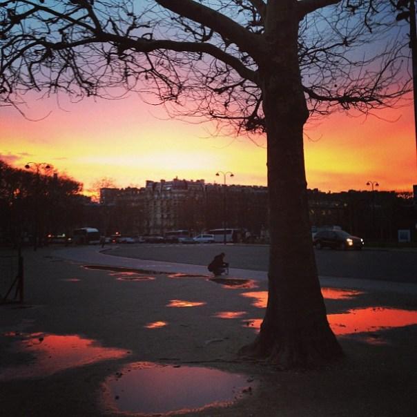 Paris - Fotos de Paris - por do sol - sunset - Instagram