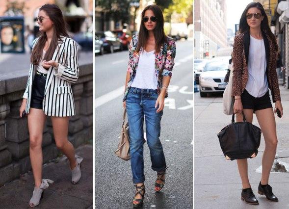 Como usar blazer - blog de moda