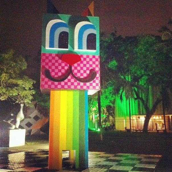 escultura gato MUBE - notícias de moda