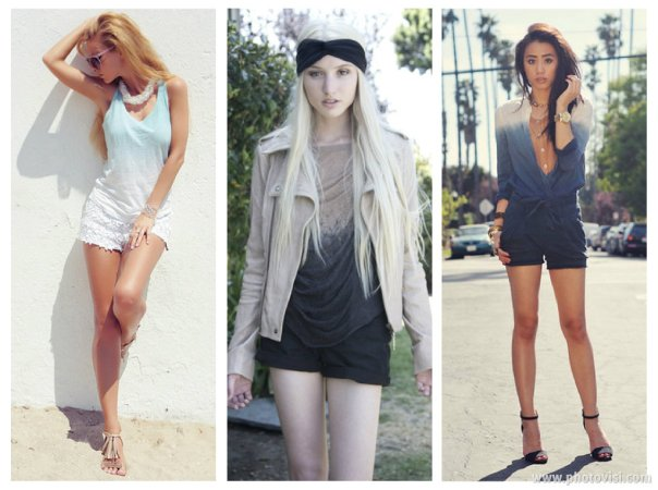 tendência de estampas para o Verão 2014 dip dye - dicas de moda