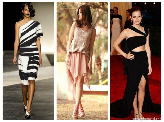 tendências de roupas para a Primavera / Verão 2014 assimétricos- dicas de moda