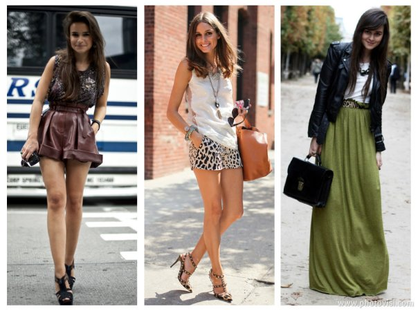 Dicas de moda e looks para baixinhas que querem parecer mais altas - short e saia
