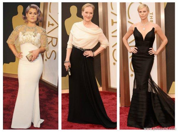 Looks das celebridades no Oscar 2014 - Os acertos 1