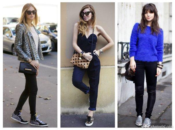 Dicas de moda sobre como usar tênis que compõem looks casuais - calça