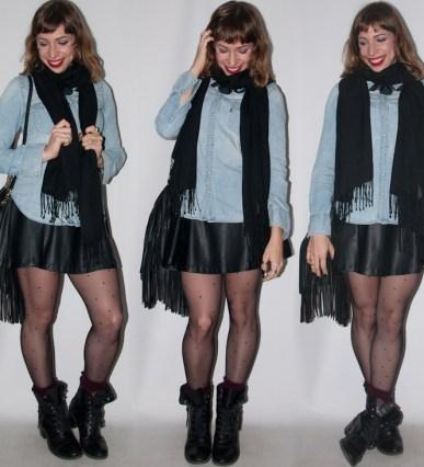 Luta do Dia- usando polainas no look do dia - blog de moda- passo 5