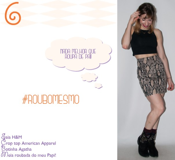 Luta do Dia 6 - look de balada - blog de moda