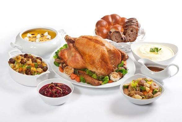 Comida de Thanksgiving
