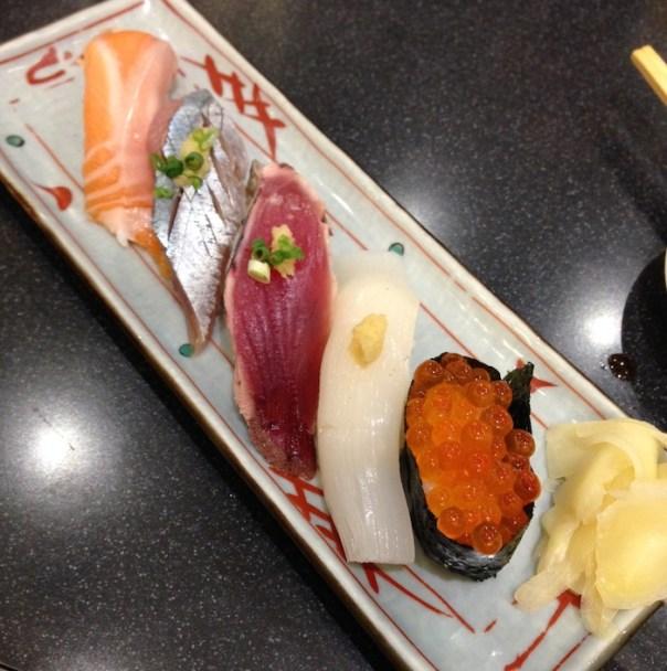 Dicas de Tóquio - Viajem para o Japão - Mercado de peixes Tsukiji - sushi