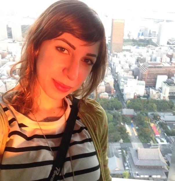 Viajem para o Japão - Tokyo Tower vista 2
