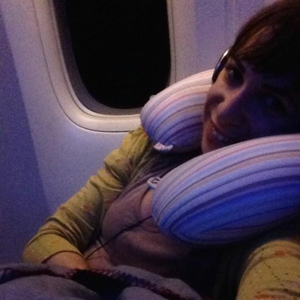 viagem para o japão - o voo