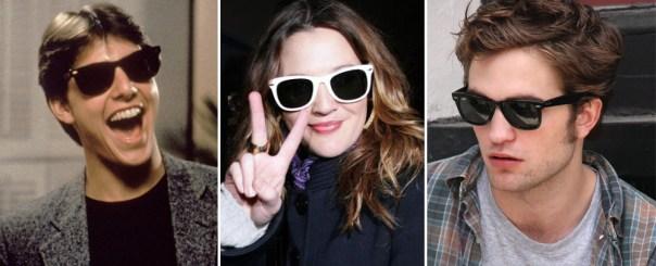 ray bans celebridades lancam moda