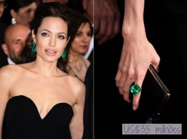 As joias mais caras do mundo no tapete vermelho do Oscar - angelina jolie