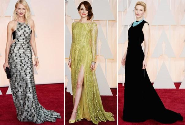 Oscar 2015 - looks do tapete vermelho