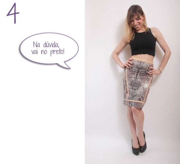 como usar saia midi lapis cintura alta 4