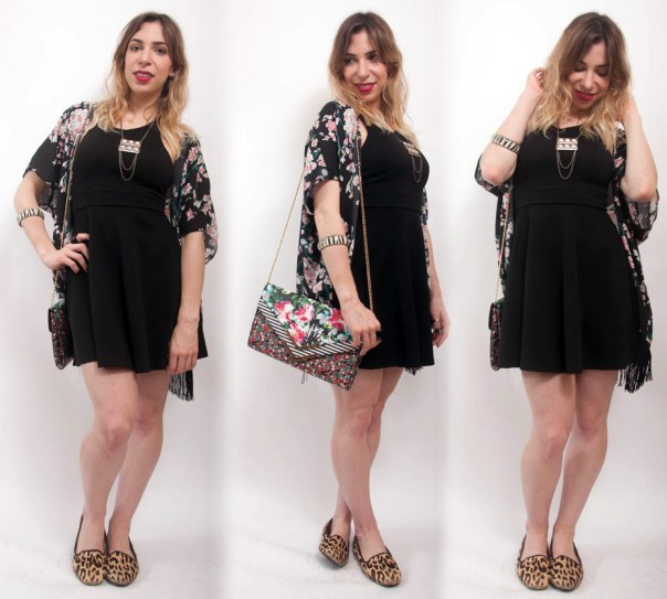 look de domingo com muitas estampas