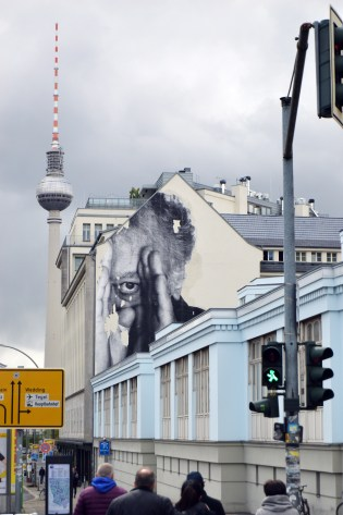 JR | The Wrinkles of the City Project | Prenzlauer Berg