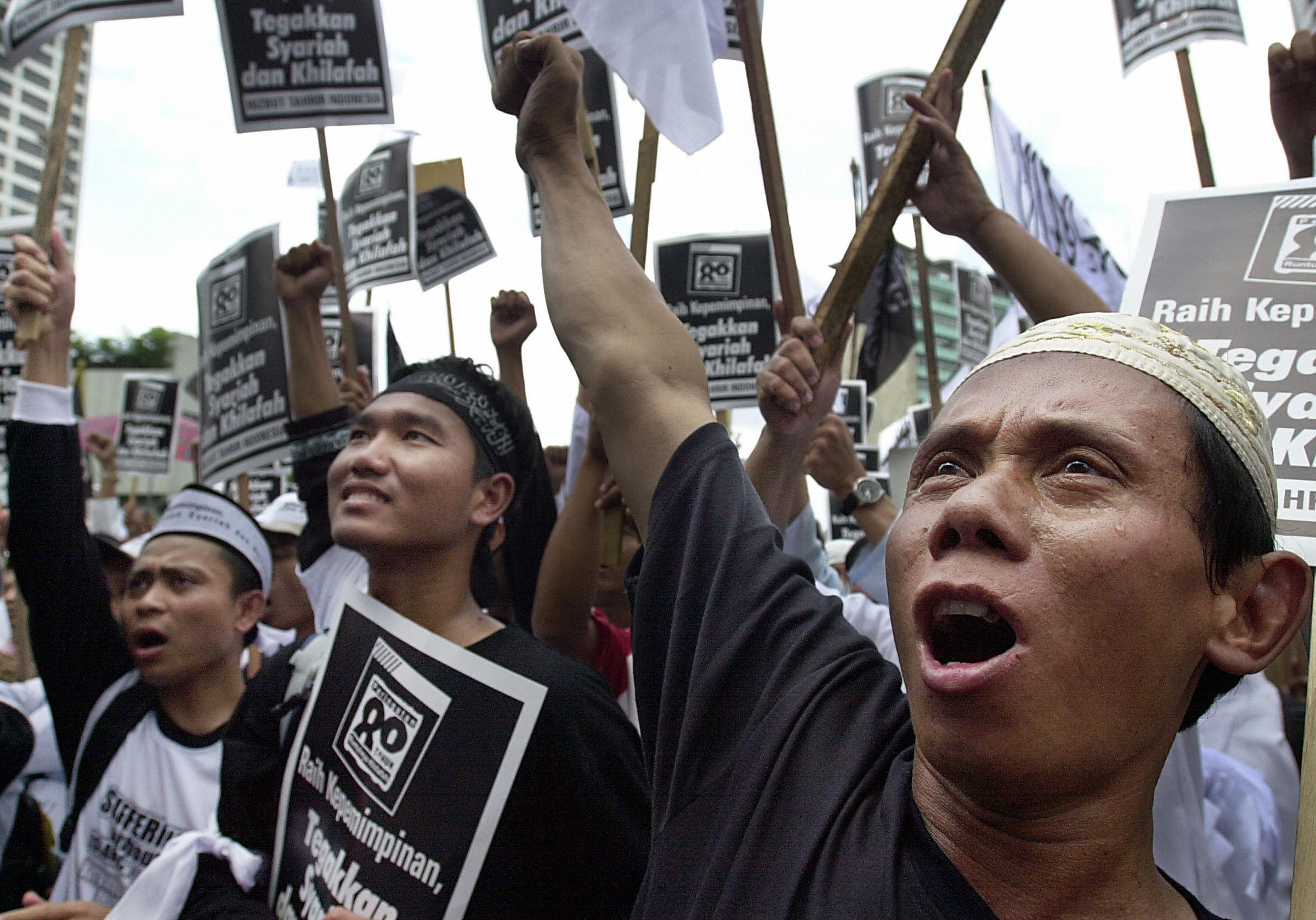 Musulmani indonesiani, 2007