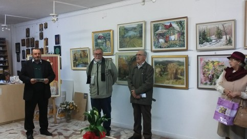 Vernisaj Mihai Butnaru - noiembrie 2015