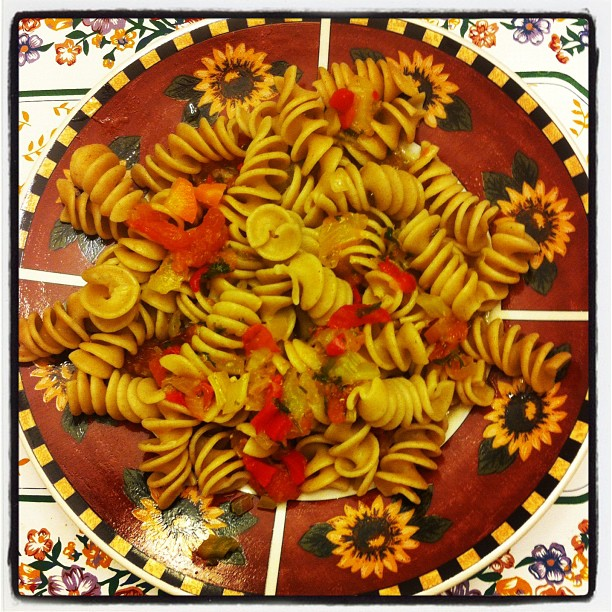Rosy's pasta with vegetables