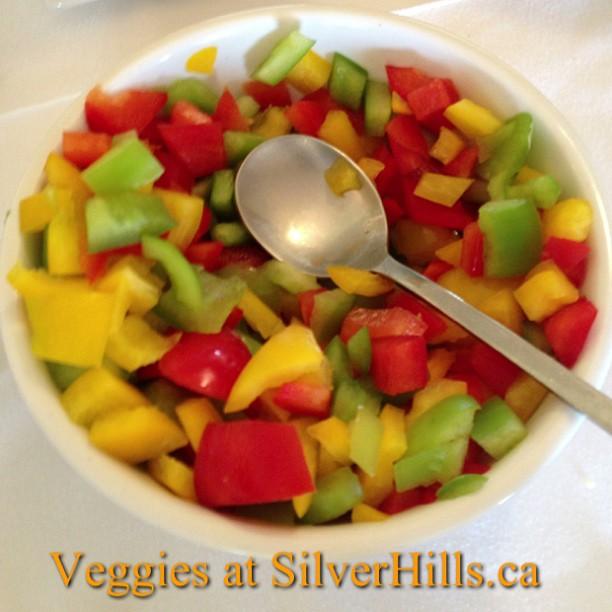 Veggies at SilverHills.ca