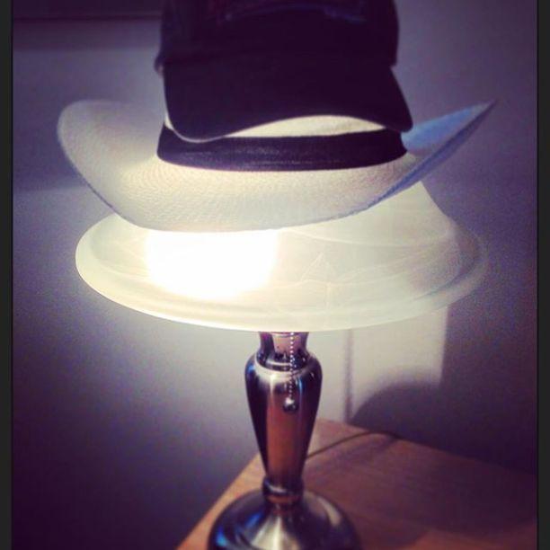 Lighted Triple Hat