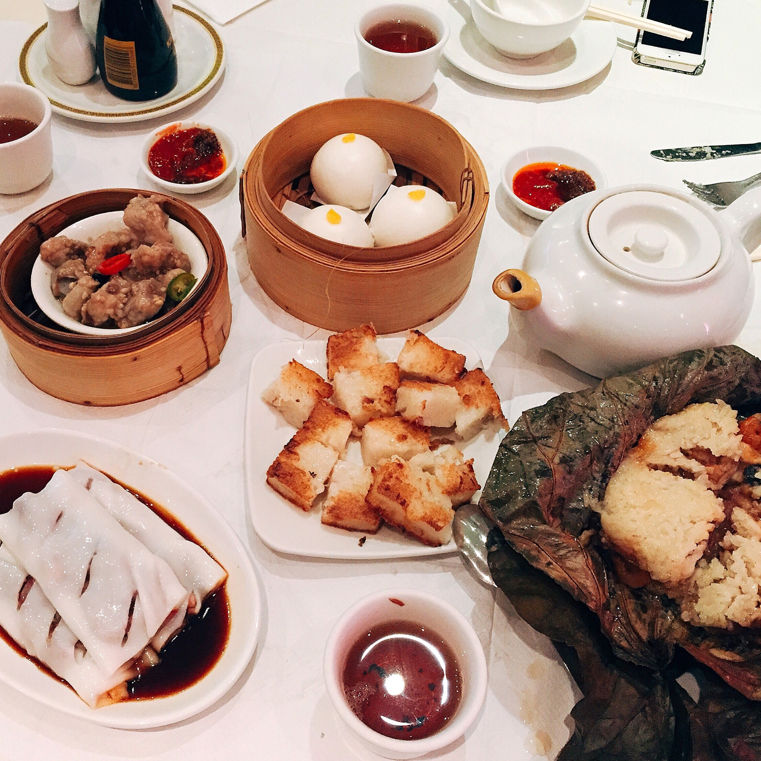 A Well-Deserved Dim Sum Lunch