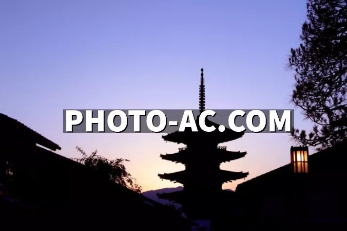 Kyoto Japan picture taken from photoAC