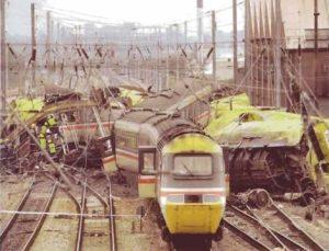 The Southall train crash