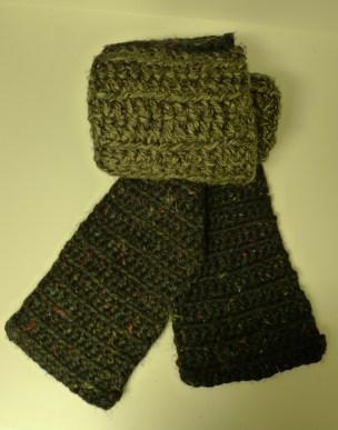 Men's cozy scarf