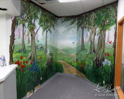 Waiting room at Sedlock Dental.