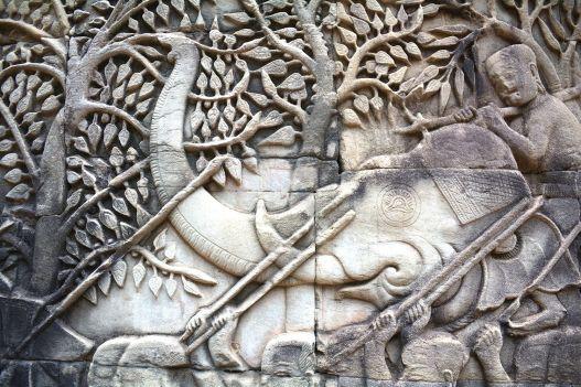 Cambodian Culture Bayon Temple