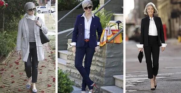 cómo vestirse después de los 50 años