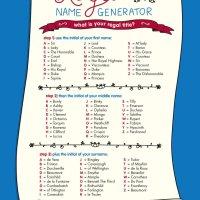 Jubilee Royal Name Generator