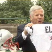 Sir Elton John takes to the NFL football field