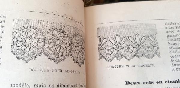 Bordure pour lingerie, La Mode Illustrée, 10 octobre 1880