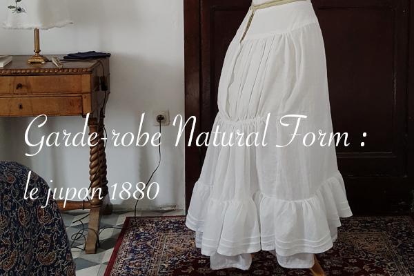 Jupon 1880 en cours par Lucie Choupaut