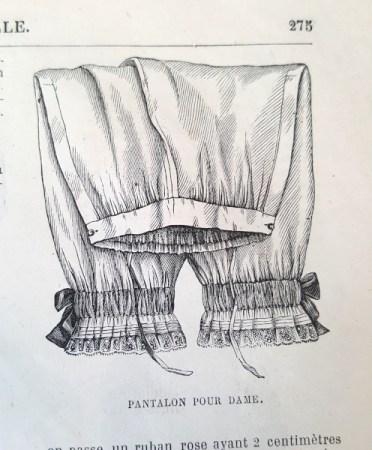 Pantalon pour dame, La Mode Illustrée, 29 août 1880