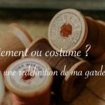 Le costume contre l'anxiété sociale - Carnet de recherches de Lucie Choupaut